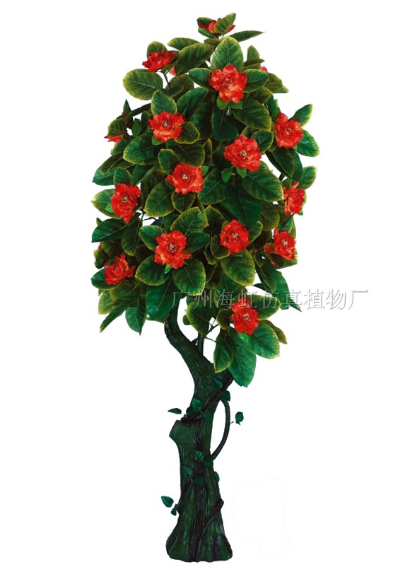 假树,仿真植物,御景花