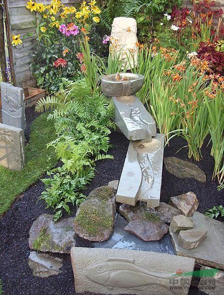 东南亚别墅庭院木地板别墅庭院沙发图片4