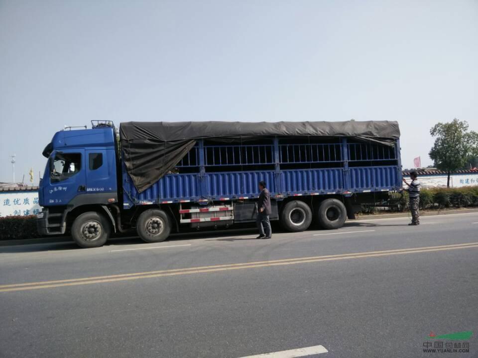 15年4月20日发货——9.6米至云南