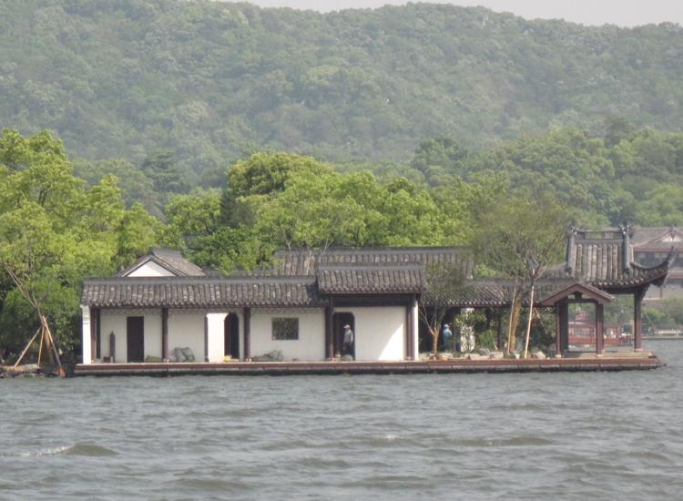 西湖申遗工程╠╠湖心亭整治项目,位于西湖风景名胜区湖心亭