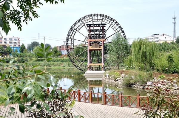 新乡市牧野湖二期景观绿化工程 - 2012全国十