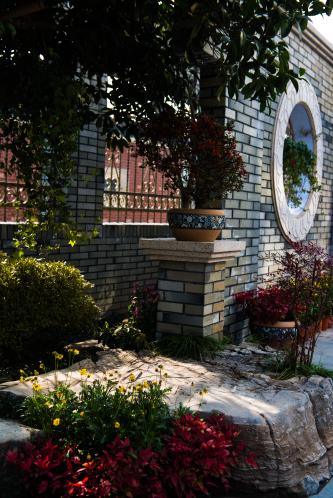 乡村别墅庭院《月色满园》