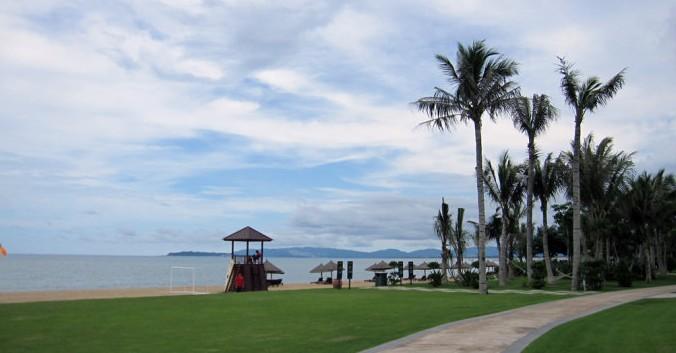 三亚海棠湾万丽酒店景观工程