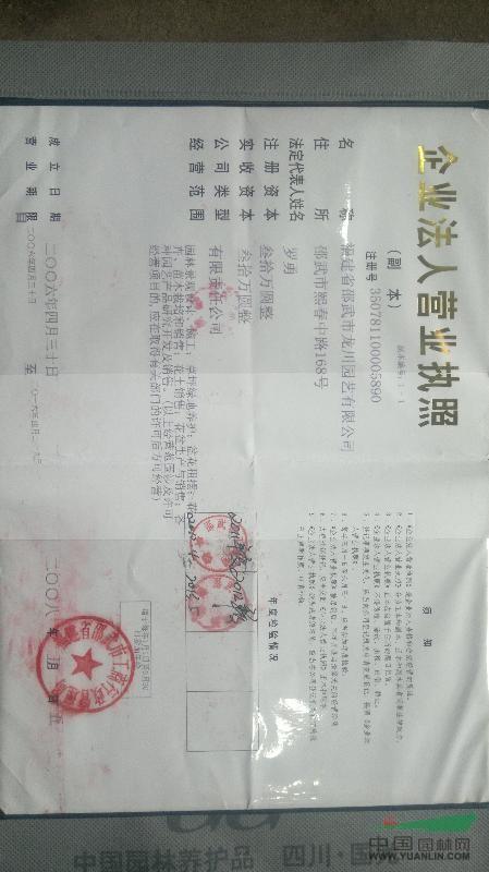 福建省邵武市龙川园艺有限公司