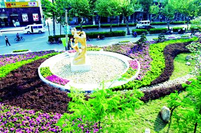江南园林小景手绘