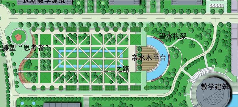 江南大学蠡湖校区景观环境规划设计