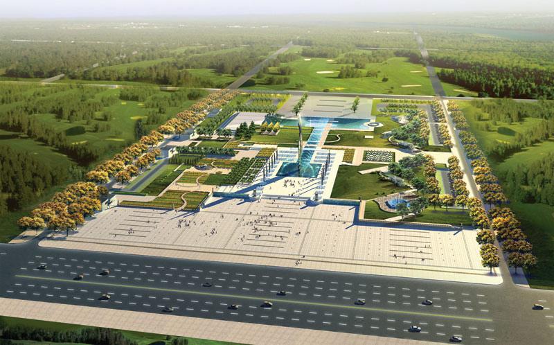 首页 69 园林景观规划设计 69 石家庄火车站,文化广场规划图片