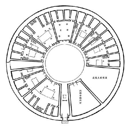 福建明代土楼cad2009版破解中文简体图片