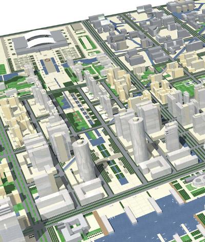 宁波东部新城规划