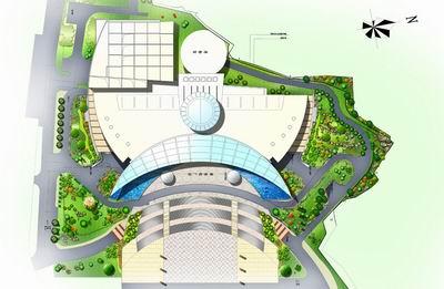 重庆中国三峡博物馆环境景观设计