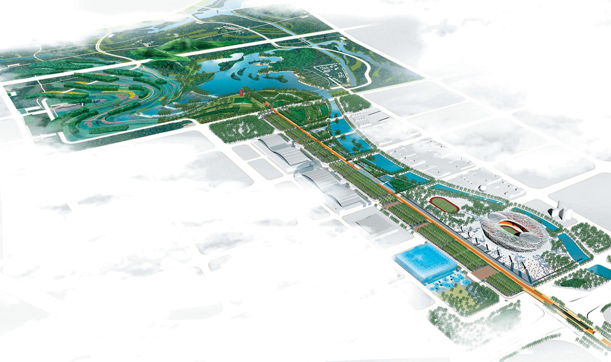 北京奥林匹克森林公园