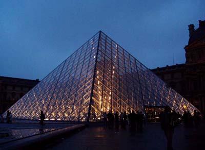 贝聿铭 金字塔的简单绘图