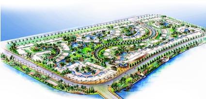 成都方案水恋园林景观设计平面总边城设计图的绘制图片