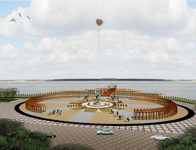 佳木斯市沿江公园规划景观设计