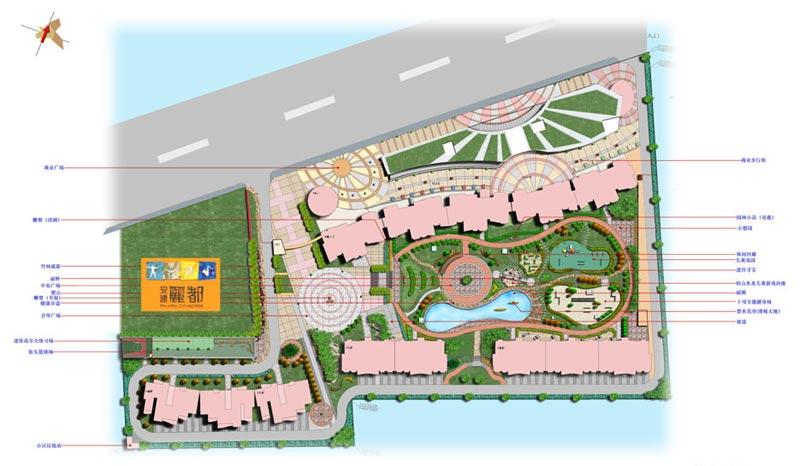 山东安建丽都园林景观设计