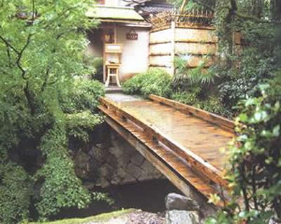 园林小品效果图 景观园林小品 现代日式园林