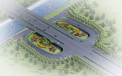 懷柔101國道環島整體道路景觀設計