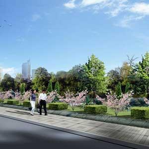 城市道路绿地景观设计探析