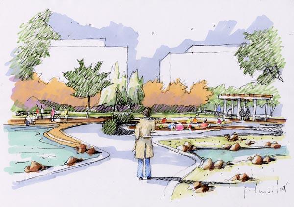 北京圣都维也纳环境景观设计