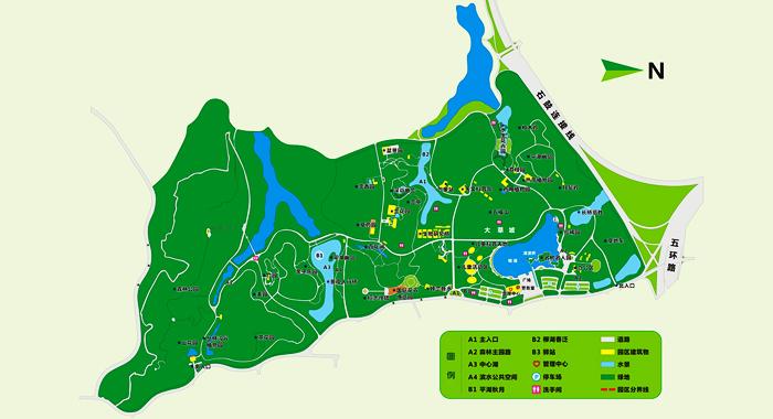 东莞植物园平面图