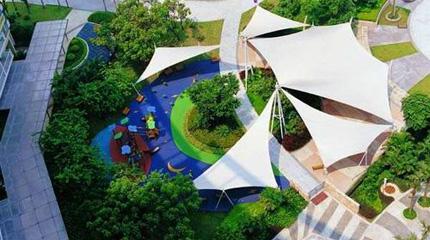 园林景观膜结构欣赏