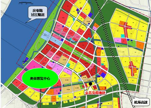 杭州市西湖区规划图_2022年亚运会--让我们相约杭州_中国园林网